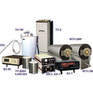 Установки для поверки датчиков температуры
